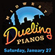 Dueling Pianos Party Event Ticket