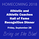 MSU Athletic & Athletic Coaches Hall of Fame Dinner Ticket