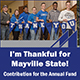 I'm Thankful for Mayville State Annual Fund Contribution