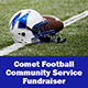 Comet Football Community Service Fundraiser